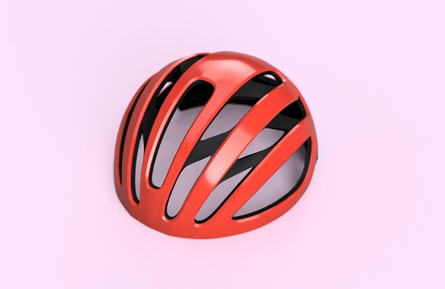 ヘルメットのデザイン
